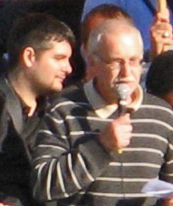Mohamed Omar och Lasse Wilhelmson