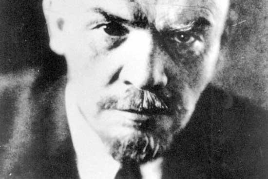 Denna bild (Scanpix) av Lenin illustrerade Bo Rothsteins inledande inlägg.