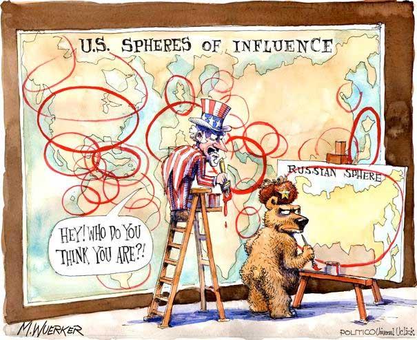 Ryssland vassar klorna 2