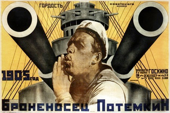 Pansarkryssaren Potempkin, den känner vi till ...