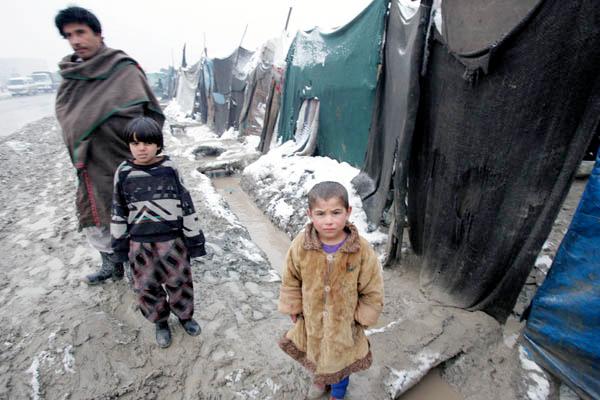 """Dagens """"koncentrationsläger"""", här i Afghanistan. Bild: Bloggen """"Militära reflektioner"""""""