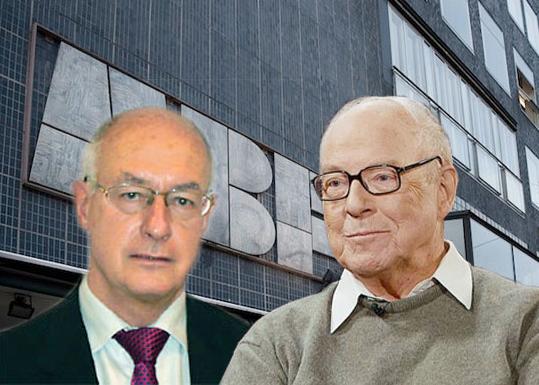 Sven Hirdman och Hans Blix