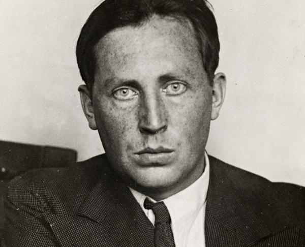 Nordahl Grieg i början av 30-talet (Bild: Wikipedia]